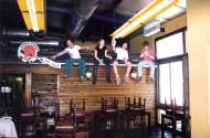ציורי קיר - מסעדה בתל אביב