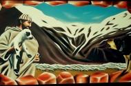 ציור קיר - צימר אלון הגליל - אבי בליטשטיין