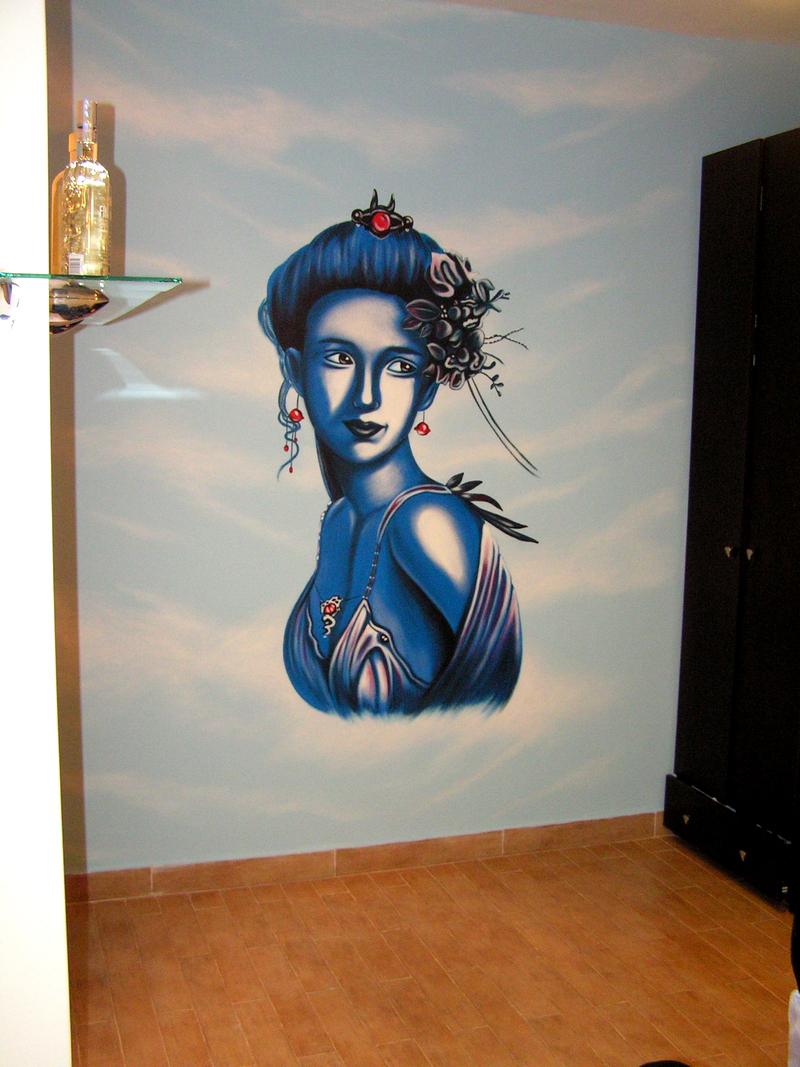 ציורי קיר לחדרי נוער - אבי בליטשטיין