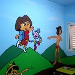 ציורי קיר לחדרי ילדים - אבי בליטשטיין