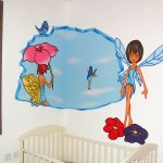 ציורי קיר לחדרי ילדים