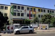 ציורי קיר בכניסה ליגאל אלון גבעתיים